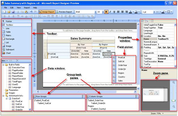WPF Reports Control | .NET control | ComponentOne Studio
