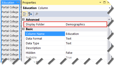 Prologika | Tabular Display Folders
