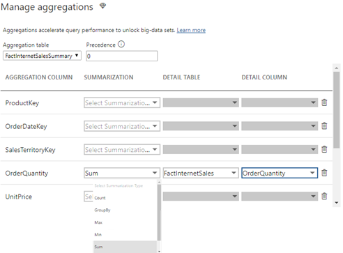 Prologika | A First Look at Power BI Aggregations